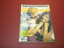OFFICIAL DETECTIVE magazine 1979 February TRUE CRIME MURDER POLICE CASES