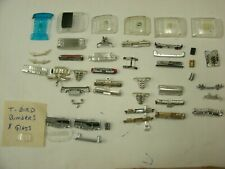 Aurora T-jet & A/fx Chrome bumper and glass parts lot, T-Bird bumpers new