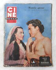 CINE-REVUE 5 septembre 1952 RICHARD TODD JOAN RICE ESTHER WILLIAMS BARDOT PIAF