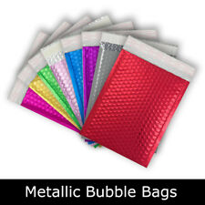 Metallic Bubble Foil Padded Bags Mailing Envelopes All sizes & Colors
