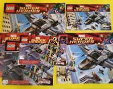 LEGO Marvel Super Heroes Lot 6869, 76005, 76007, 76006 6867  *Books Only*