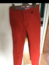 Chino rouge Eleven Paris Taille 38