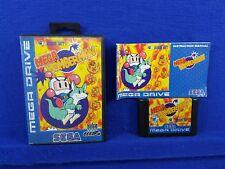 Sega Mega Drive MEGA BOMBERMAN Rare Battle Game Boxed & Complete PAL