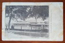 D.,L.&W.R.R. Station, Boonton, Nj Photo Postcard Lackawanna