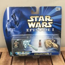 1999 Hasbro Galoob Star Wars Episode 1 Micro Machines Collection 2 MOC 66502