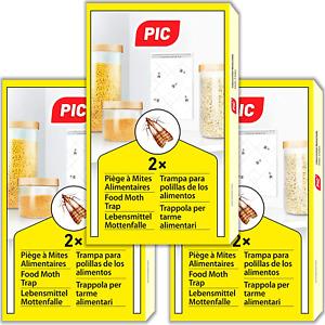 Pieges A Mites Alimentaires Paquet Triple 6 Pieges A Pheromone Anti Insectes