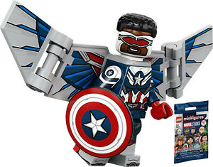 LEGO Minifigures Marvel Studios - Captain America (Sam Wilson) - (71031)