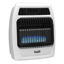 20000 BTU Liquid Propane Blue Flame Vent Free Thermostatic Wall Heater Propane