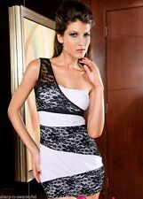 Women's Extra short, Micro mini No Pattern Stretch, Bodycon Clubwear Dresses