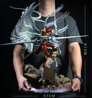 DUKEMON CRIMSON MODE Statue Resin YW studio Figure Digimon monster Presale 62cm