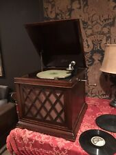 "Edison Diamond Disc ""Chalet� Phonograph B-19 Rarer Tabletop Model"