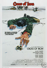 Cross of Iron James Coburn vintage movie poster
