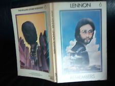 "Los Beatles John Lennon's ""Lennon recuerda"" Penguin Books (de Bolsillo) 1973"