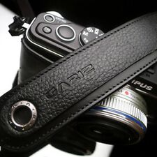 Gariz Black Leather Neck Strap XS-CHLSNBK Sony NEX Olympus EM5 Lumix Leica