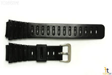 20mm Fits CASIO DW-240 G-Shock Black Rubber Watch BAND Strap DW-200 DW-260