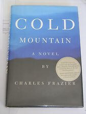Cold Mountain by Charles Frazier (Hardback, 1997) 1st edition signed very rare