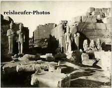 Thebes, Egypt, Zangaki ??, Original Photo, ca. 1900