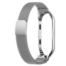 Metal Strap For Xiaomi Mi Band 3 Mi Smart Bracelet Screwless Wristbands E5T2