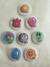 """RARE 2"""" Pokemon Badges Pin Set - Will Not Find Anywhere! Large Size"""