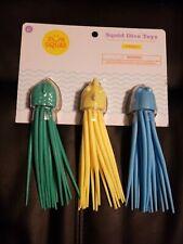 Sun Squad Squid Dive Toys set of 3