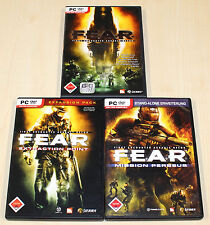 3 PC Giochi Bundle F.E. A.R. Fear extraction Point missione Perseus-Oro ULTIMATE