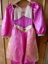 Beautiful Original Disney Store Pink Jasmine Dressing up Outfit 7-8 Years