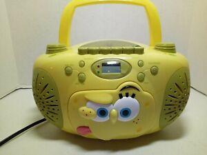 SpongeBob SquarePants SB288 Portable Boombox CD Player Radio