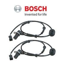 Audi A4 Quattro Set of 2 Rear Left + Right ABS Sensor Bosch OEM 8D0 927 807 F