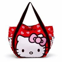 Hello Kitty Sanrio [New] Print Tote Bag (face) Cute Gift Japan Free shipping