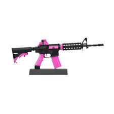 Miniature Pink AR-15 Mini Toy Gun   1/3 Scale Replica Non-firing Toy