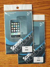 Lot of 2. Screen protector film for Blackberry Storm2 9520, storm2 9550