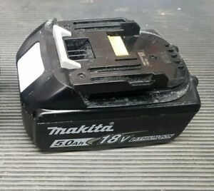 Makita BL1850B Li-Ion 18V 5.0ah Tool Battery - Black