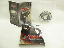 THE LEGEND OF ZELDA Twilight Princess Game Cube Nintendo Japan Game gc