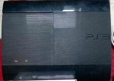 Sony PS3 SUPER SLIM 12GB Konsole Playstation 3 ULTRA solo Ersatz schwarz Blu Ray