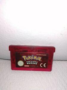 Game boy advance Pokemon versione Rubino ITA 🇮🇹