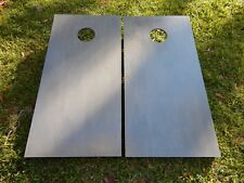 Regulation Classic Gray Stained Cornhole Boards W/O Bags