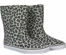 Women's Animal Print Suede Boots