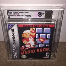 Super Mario Bros. VGA 85+ GOLD! (Classic NES Series) MINT! Game Boy Advance RARE
