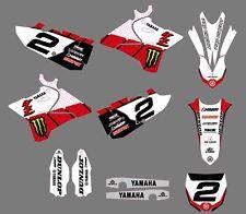 Yamaha YZ-250 2015-2016-2017-2018 Graphics kit decals stickers pegatinas yz250