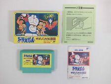 Doraemon Giga Zombie no Gyakushu -- Boxed. Famicom, NES. Japan game. Work fully.
