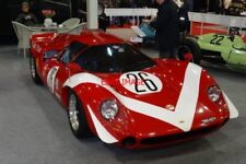 PHOTO  RACERETRO STONELEIGH 25.2.12 THE IMMACULATE LOLA T70 MK3 OF GRAHAME AND O