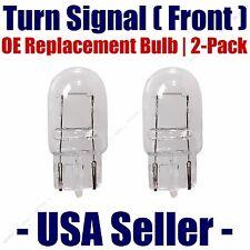 Front Turn Signal/Blinker Light Bulb 2pk - Fits Listed Subaru Vehicles - 7440
