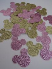 "Disney Minnie Mouse Pink & Gold Glitter Confetti (1"")"