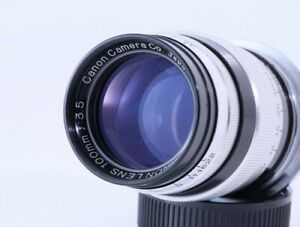 Canon 100mm F 3.5 Leica LTM39 Lens, From Japan#5331