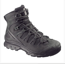 Salomon Quest 4D Forces Mens Size US 11.5 UK 11 Tactical Blacked Out Boots