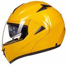 9 Colors DOT Modular Dual Visor Flip Up Motorcycle Helmet Motocross Full Face