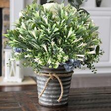 Artificial Flower Plants Fake Garden Shrubs Bushes Faux Morning Glory Home Decor