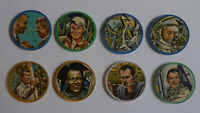 1960's Space Magic Lot of 8 different Coins No name back