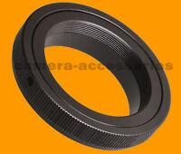 T2 T lens to Canon EOS EF mount adapter ring for SLR DSLR camera 60D 7D 550D 50D