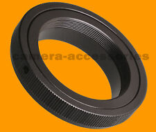 T2 T lens to Canon EOS EF mount adapter ring for SLR DSLR camera 60D 7D 550D 50D